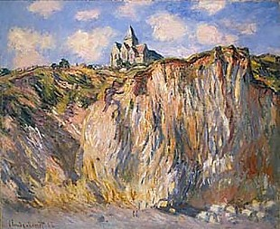 Claude Monet - The church of Varengeville in the morning light
