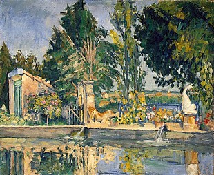 Paul Cézanne - Jas de Bouffan, the pool,