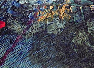 Umberto Boccioni - States of Mind: Those Who Go