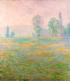 Claude Monet - Meadows in Giverny