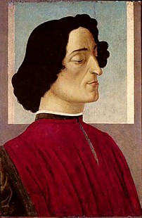Sandro Botticelli - Portrait of Giuliano de' Medici
