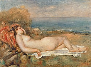 Pierre-Auguste Renoir - The Nude in the Grass