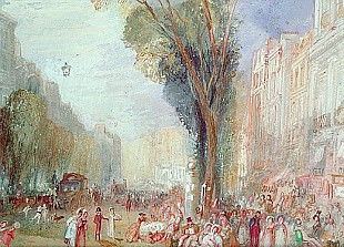 Joseph Mallord William Turner - Boulevard des Italiennes, Paris
