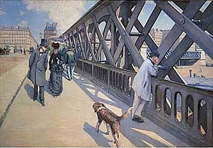 Gustav Caillebotte - At Europe bridge