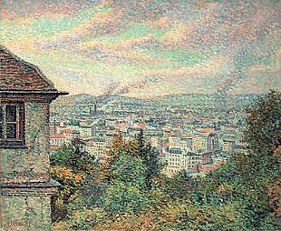 Maximilien Luce - Paris, View of Montmartre