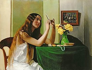 Felix Vallotton - At the Dressing Table