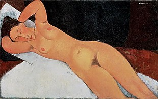 Amadeo Modigliani - Nude, 1917