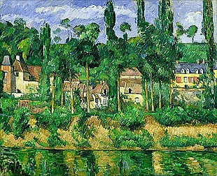 Paul Cézanne - The Chateau de Medan