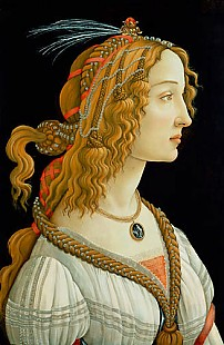 Sandro Botticelli - Female ideal image