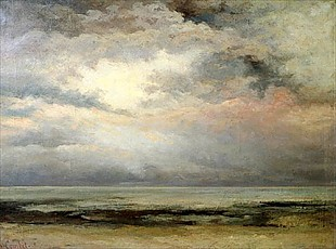 Gustave Courbet - L' Immensite