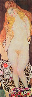 Gustav Klimt - Adam and Eve (unfinished)