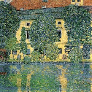 Gustav Klimt - The Schloss Kammer on the Attersee III