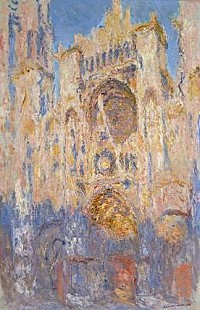 Claude Monet - Rouen Cathedral,Sunset