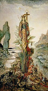 Gustave Moreau - The Mystic Flower