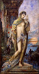 Gustave Moreau - The Song of Songs: the Shulammite maiden