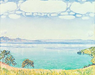 Ferdinand Hodler - View of Lake Leman from Chexbres