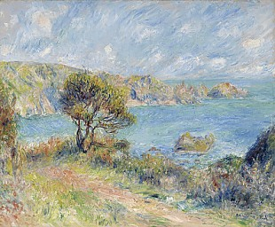 Pierre-Auguste Renoir - View at Guernsey