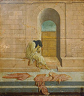 Sandro Botticelli - Loneliness (or: Melancholy)