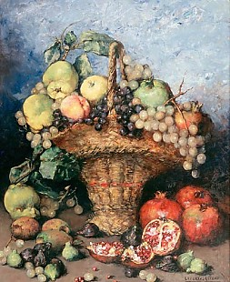 Ramon Laporta Astort - Fruit still life