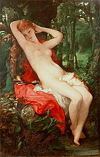 Jules Louis Machard - Diana at the spring