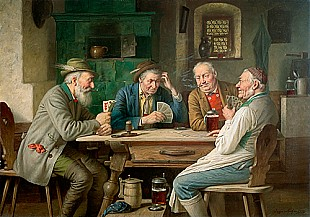 Josef Wagner-Höhenberg - Exciting card game