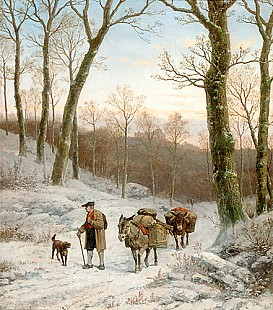 Caesar Bimmermann - Winter evening