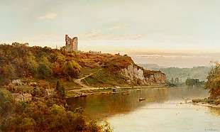 Alfred de Breanski - View onto Knaresborough Castle