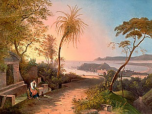 Theodoro Duclere - Bay of Nice