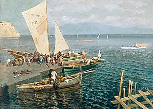 Ettore Forti - Return of the fisherboats