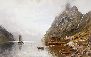 Anders Monsen Askevold - Summer afternoon at a fjord