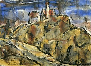 Christian Rohlfs - Convent in Andechs