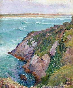 Jan Betrand Pegot-Ogier - Coast at the Bretagne
