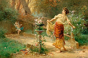 Hans Zatzka - Allegory of summer