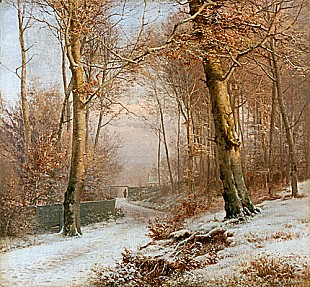 Anders Andersen-Lundby - Winter in park