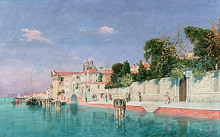Friedrich K. Hurt - Chiesa of Gesuiti in Venice