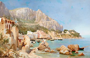 Leo von Littrow - Marina Grande at Capri