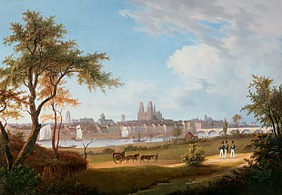 Joseph Bidauld - View over Orleans with St. Croix