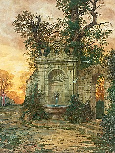Ferdinand Knab - The fountain