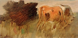 Wilhelm Busch - Two cows