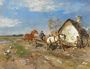 Georg von Bochmann - Fast carriage ride