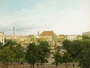 Eduard Gaertner - View of Berlin