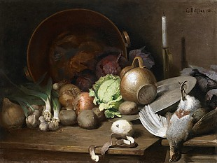 G. Bollfras - Kitchen still life