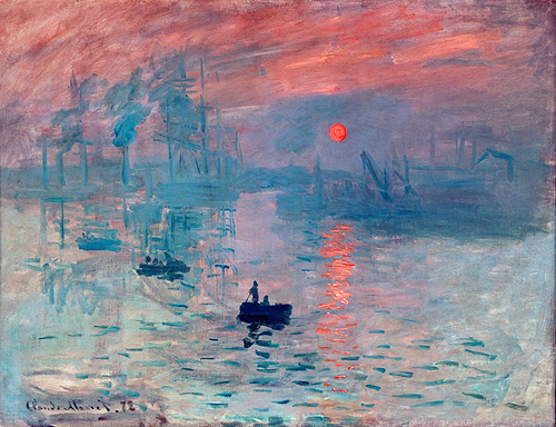 Order painting 'Impression (Soleil levant)' by Claude Monet