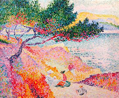 Henri-Edmond Cross - La Plage de Saint-Clair