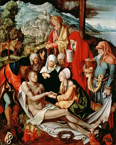 Albrecht Dürer - Lamentation for Christ