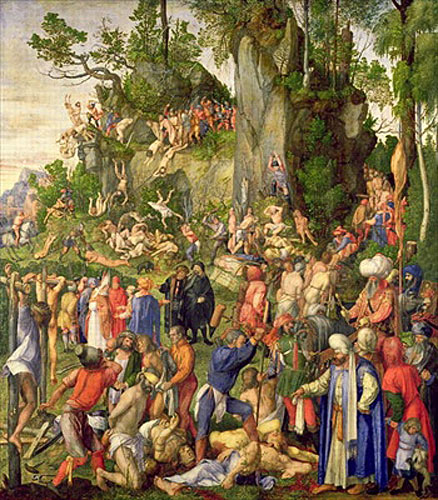 Albrecht D�rer - Martyrdom of the Ten Thousand