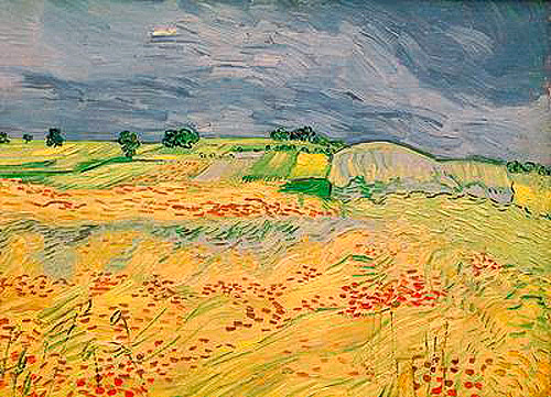 Vincent van Gogh - Plain at Auvers