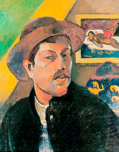 Paul Gauguin - Self Portrait in a Hat