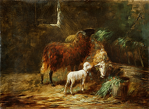 Otto Gebler - sheep shelter