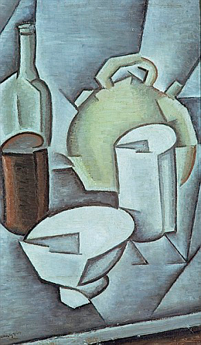 Juan Gris - Still Life with a Bottle of Wine